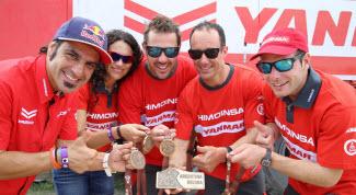 L'équipe de rallye HIMOINSA dans le top 10 du Dakar 2016