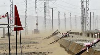 Des groupes électrogènes HIMOINSA alimentent le « TGV du désert », Train à Grande Vitesse qui dessert La Mecque