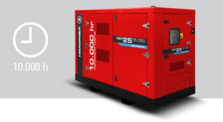 Nuevo grupo electrógeno a gas con mantenimientos cada 10.000 horas