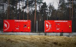 Notstrom in einem der führenden Unternehmen für verarbeitetes Fleisch in Polen