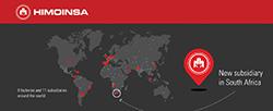 HIMOINSA führt sein Wachstum im Süden Afrikas fort und eröffnet 2016 eine Zweigstelle