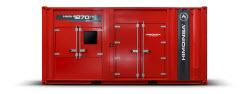 Neue HIMOINSA-Stromaggregate mit MTU-Motor in einem 20-Fuß-Container