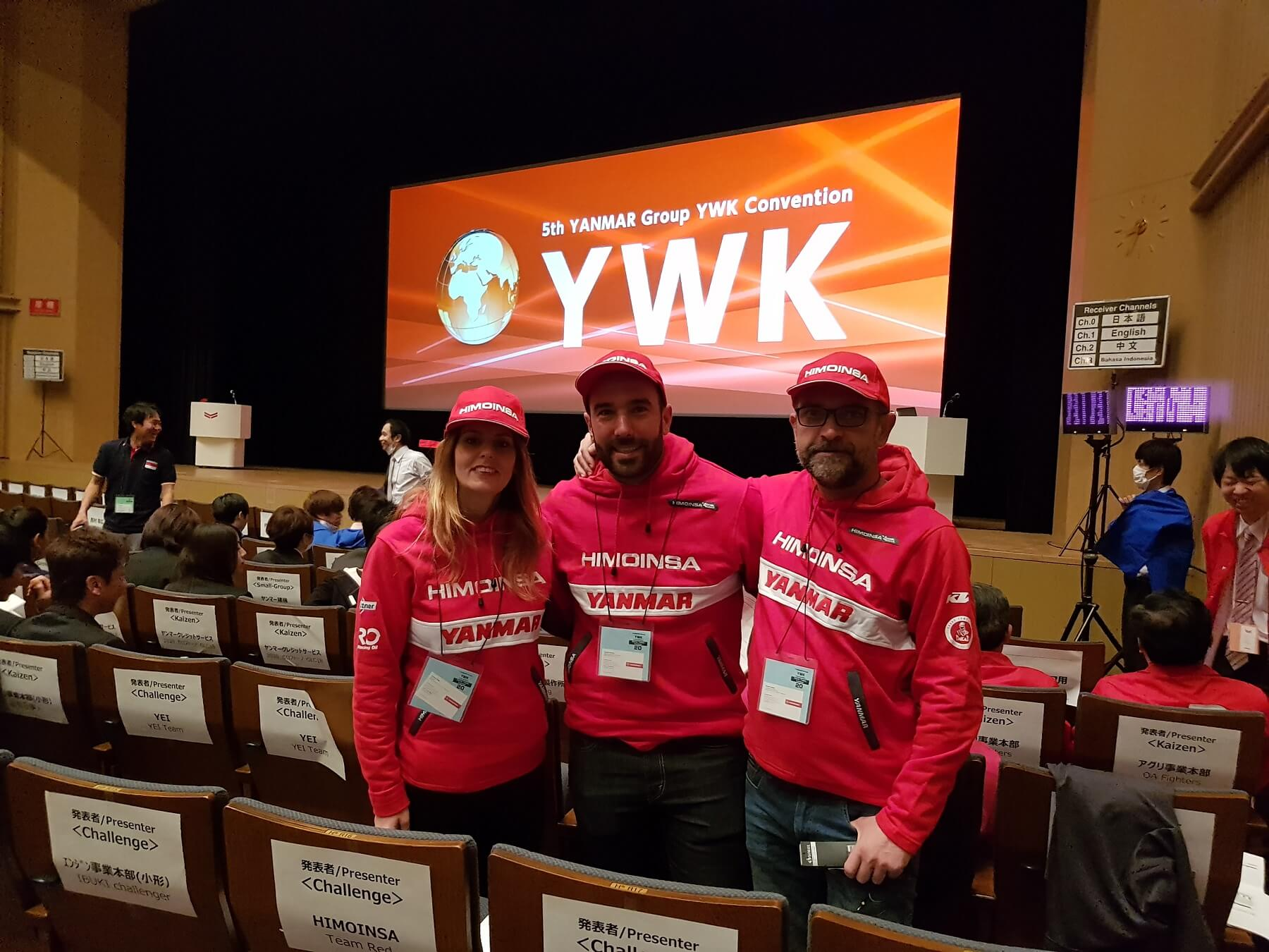 RED, finaliste à la 5e édition de la Convention YWK du Groupe YANMAR