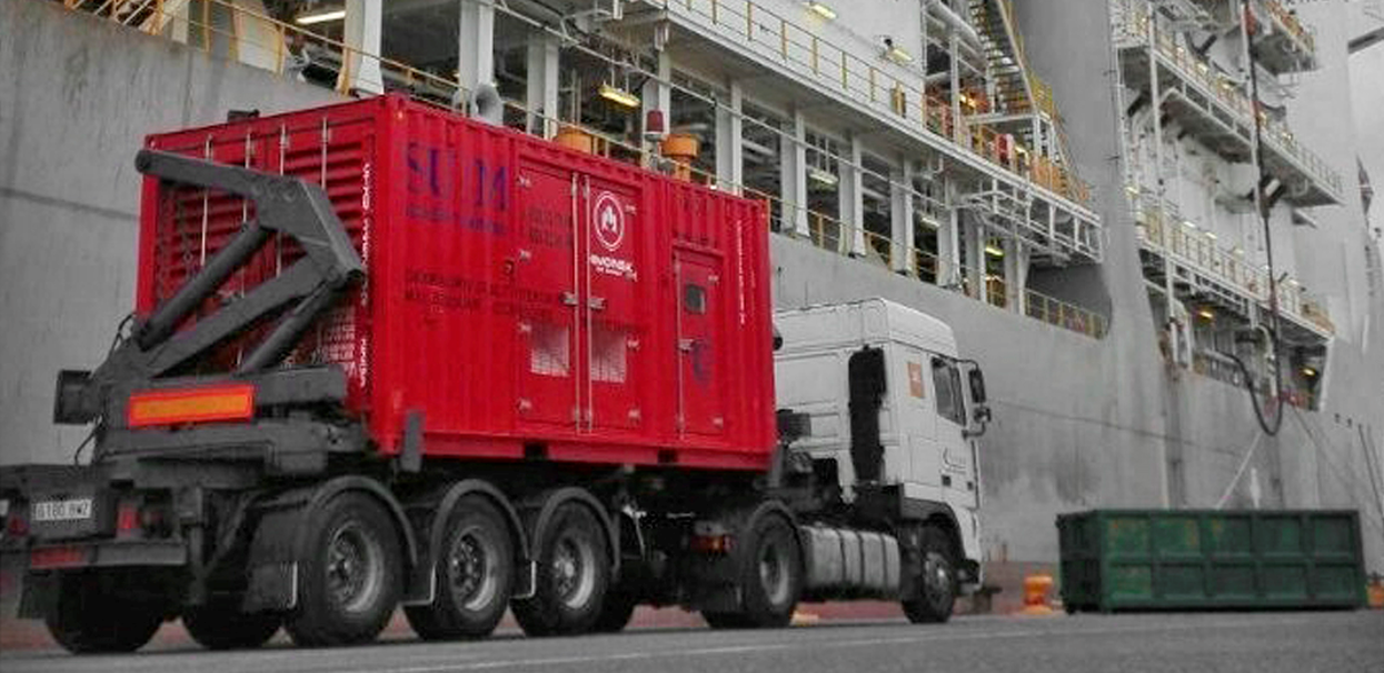 Generator sets for oil rigs