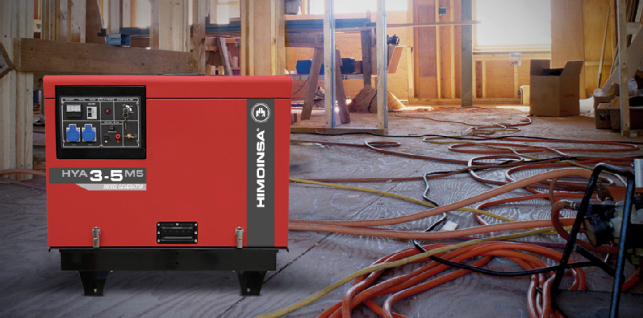 New portable generator that is soundproof, compact and easy to transport