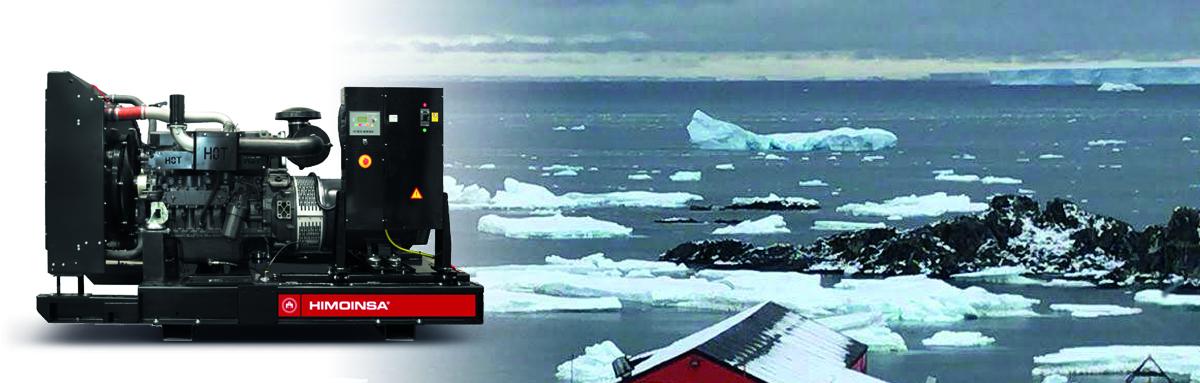 Fourniture de puissance continue dans l'Antarctique