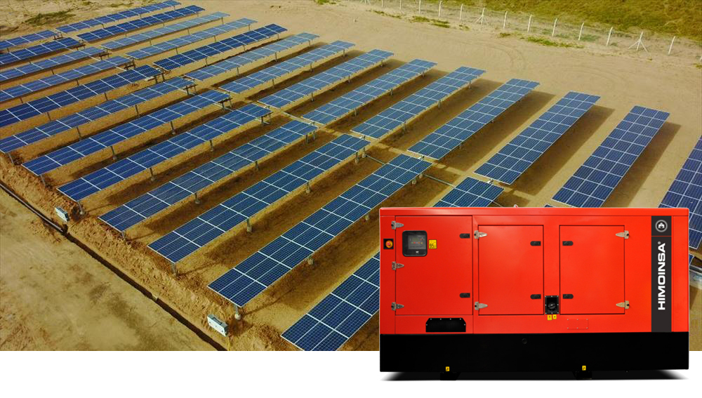 HIMOINSA generator sets in the first hybrid microgrid to supply power to a community in Argentina