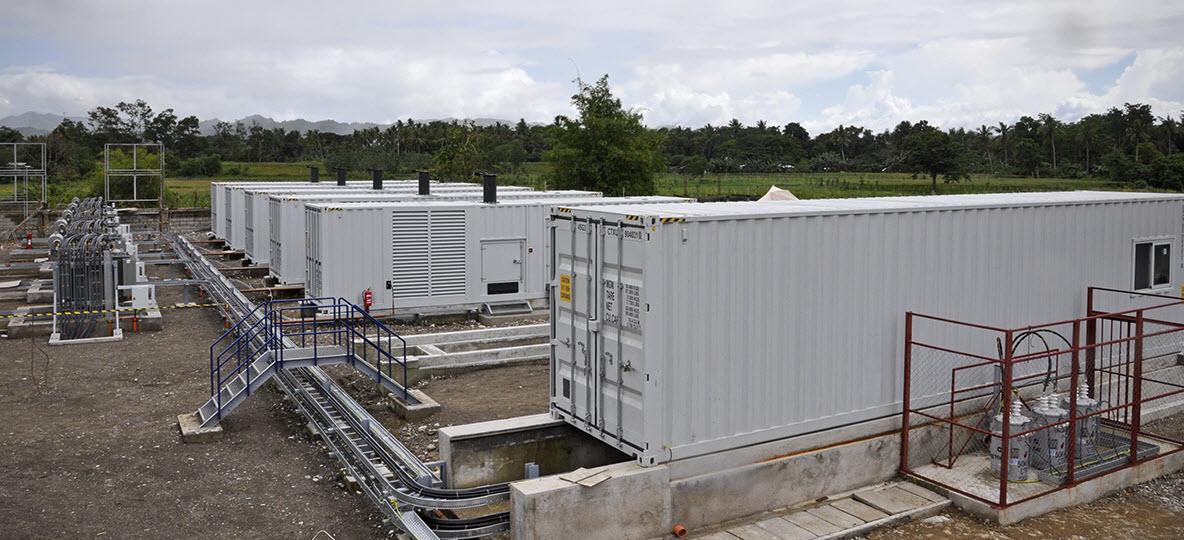 5x2230 kVA | 10 MW  | Mindanao, Filipinas