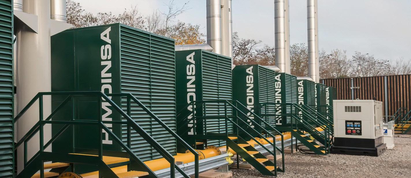 9 x 1930 kW | 18 MW Midlands de l'Ouest | Royaume-Uni