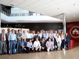 HIMOINSA distributors in Spain gather to find out about the company's new generator sets and lighting towers