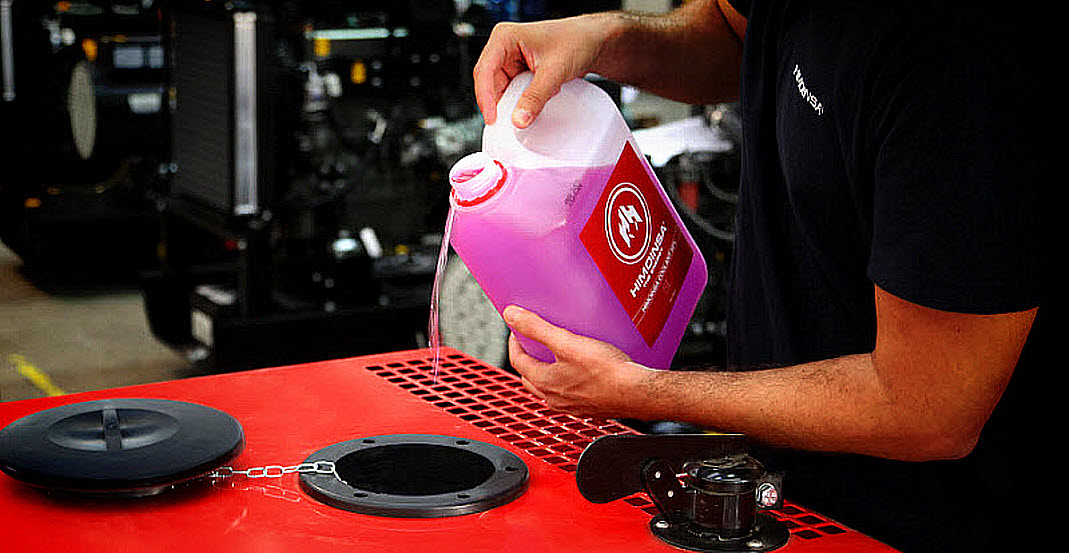 What coolant does your generator set need?