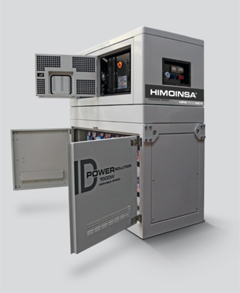 Variable speed hybrid generator sets that reduce fuel consumption by 40% and extend maintenance periods up to 1000 hours