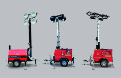 The HIMOINSA new lighting towers offer more auntonomy, less consumption and easier transportability