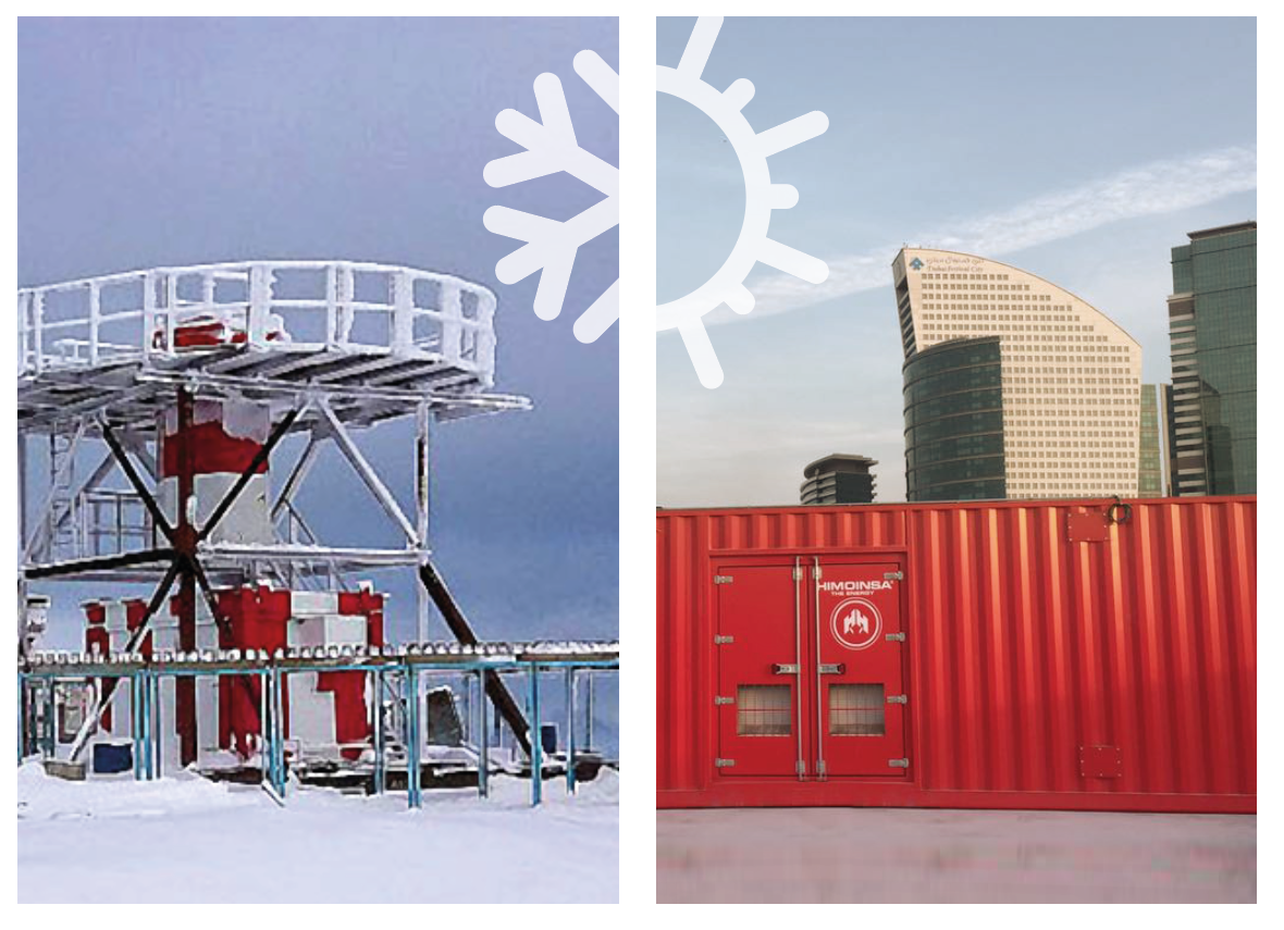 Generator sets and extreme climates. How to set up your equipment so it continues to offer optimal performance