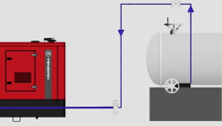 Suministro de combustible para grupos electrógenos ¿Cuándo y cómo usar un depósito externo?