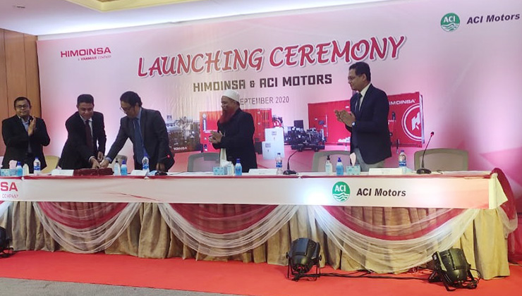 HIMOINSA appoints a new dealer in Bangladesh – ACI Motors