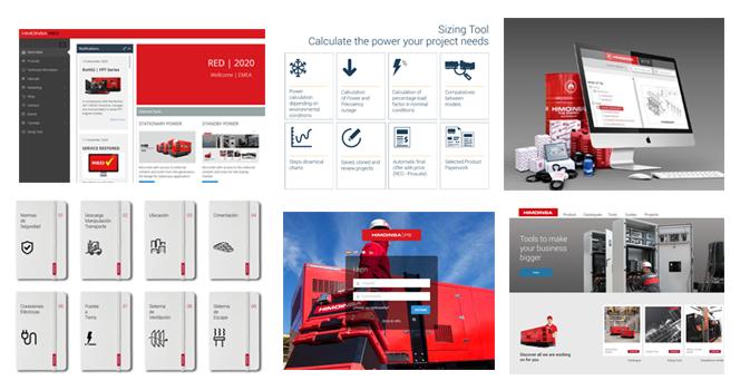 HIMOINSA | DIGITAL SUITE Découvrez tous les outils digitaux à la disposition de nos distributeurs.