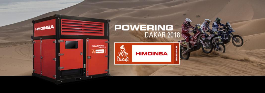 HIMOINSA Power Cube Dakar 2018