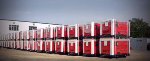 350 generator sets for telecom projects in Irak