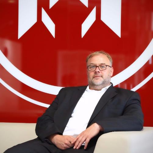 HIMOINSA General Manager, Ralf Katzwinkel